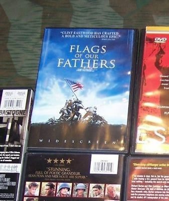 WWII dvd war movie FLAGS OF OUR FATHERS a Clint Eastwood & Steven Spielberg film