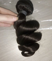 Indian VIRGIN REMY HAIR Weave Extensions #1 BEST QUALITY