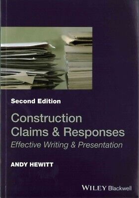 Construction Claims & Responses : Effective Writing & Presentation, Paperback...