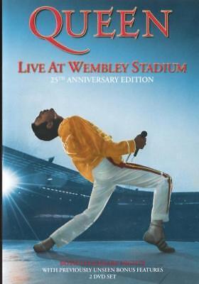 Queen: Live at Wembley Stadium (25th Anniversary Editio  - DVD - NEW Region 4, 2