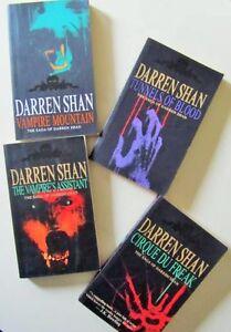 ~~ The SAGA of DARREN SHAN ~~ Books 1 to 4 Set