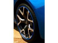 Alloy wheel guard Vauxhall Ford Seat Citroen Fiat Renault Peugeot Alfa Romeo Saab Skoda Volvo Subaru