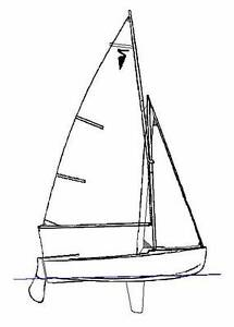 Herron sailing Dinghy Gaff Rigged Subiaco Subiaco Area Preview