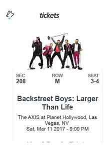 Backstreet Boys: Larger Than Life in Las Vegas!