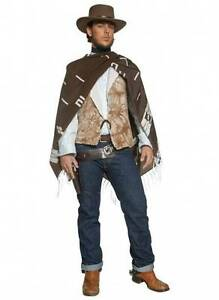 Wandering gunman western costume cowboy Eastwood by Smiffys Merrimac Gold Coast City Preview