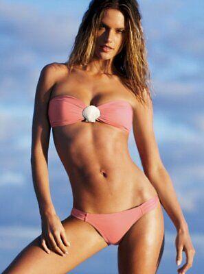 Victoria's Secret Bandeau-Low rise Bikini Set Gr. M-40 SEASHELL