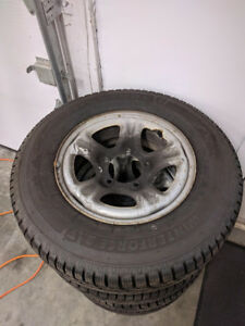 4 winter tires 205/75R15 97S