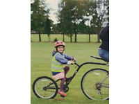 "Adventure Ditto ""tag-along"" trailer bike"