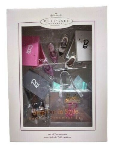 Hallmark BARBIE STEP OUT IN STYLE Set of 7  2005 NIB  NOS