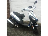 digita 51 50cc moped learner legal ped pit bike crosser piaggio yamaha 125 comuter