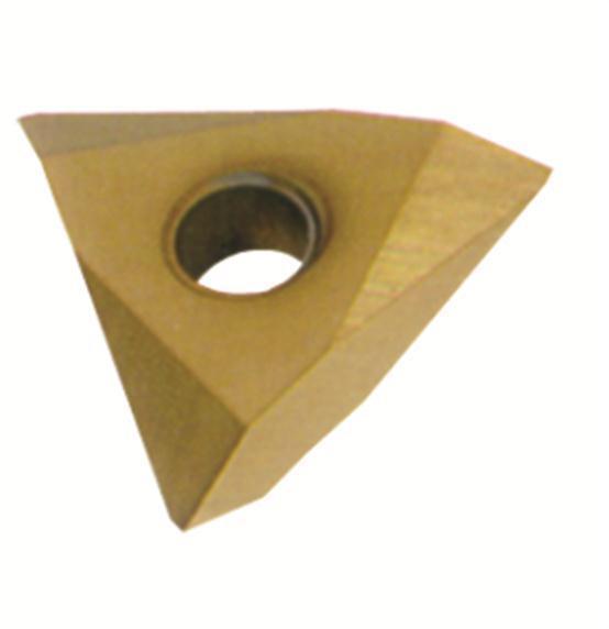 RISHET TOOLS TPMA 32NV C2 Uncoated Carbide Inserts (10 PCS)