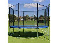 Trampoline Net 10 ft 8 pole
