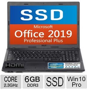NEW Cond.  2.30 GHz / SSD / 6 Gb RAM / OFFICE Pro_2019