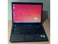 Compaq laptop. Core 2 duo, 2gb ram, Windows 7