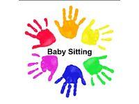babysitting/childminder/helpful hands.
