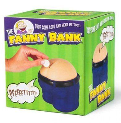 Fanny Piggy Butt Bank ~ The Fart Poop Machine Bank  + 1 Million Bill