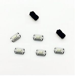 100pcs 3*6*2.5mm Tactile Push Button Switch Tact Switch Micro Switch 2-Pin SMD