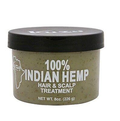 Kuza indisch 100% Hanf Haar & Kopfhaut Behandlung (Persönliche Pflege) 227ml - Hanf Kopfhaut Behandlung