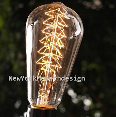 Decorative Vintage Edison Cage Light bulb Christmas Tree lamp decor HOT rare