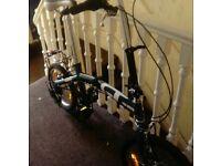 gt folding bike