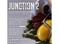 2 x Junction 2 tickets (Tobacco Dock)
