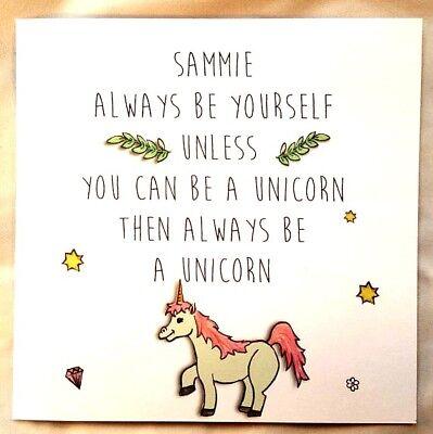 Personalised Fun Friendship Card