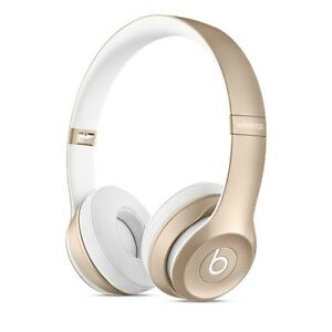 Beats by Dr. Dre Solo 2 Bluetooth Wireless Headphones (Gold) St. John's Newfoundland image 1
