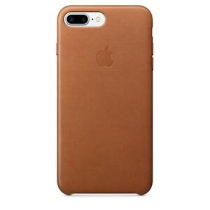 Apple Saddle Brown leather case 7 Plus