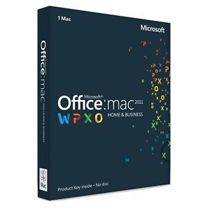 Microsoft Office for Mac Home & Business - Licensed