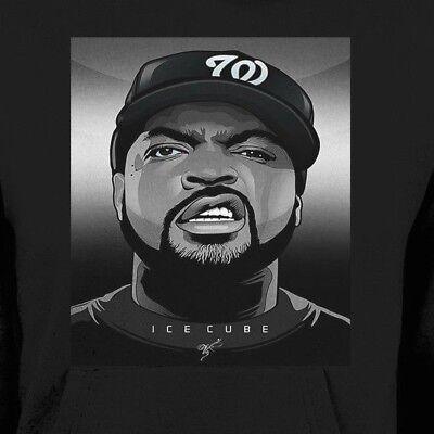 ICE CUBE CUSTOM ART WINTER HOODIE OLDSKOOL  Shirt *MANY OPTIONS*](Custom Ice Cubes)