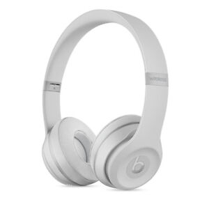 Beats Solo 3 Wireless Headphones - BNIB - Matte Silver
