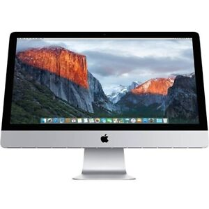 Apple iMac 27inch / i7 / 3.5GHz / 32GB RAM / 3TB INTERNAL HD.