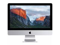 Apple iMac 15, 21.5-inch, Intel Core I5, 8gb RAM, Magic Mouse 2, Magic Keyboard 2