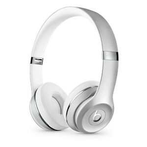 Silver Beats Solo 3 Wireless Headphones