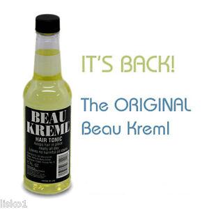 BEAU KREML Men's Grooming Hair Tonic 10 oz.