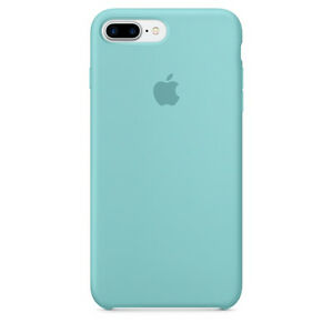 609cd6822b Original Apple Silicone Snap Case for iPhone 7 Plus - Sea Blue for ...