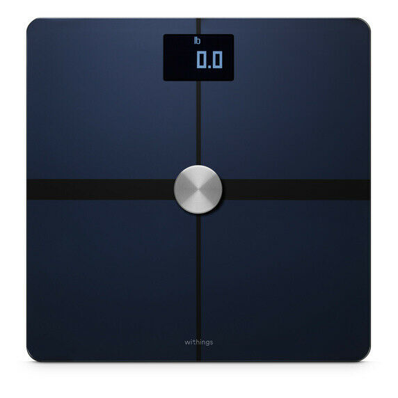 Withings Body Composition Smart Wi-Fi Scale, Black