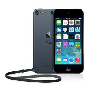 Black, 32gb, 5th generation IPod Touch.