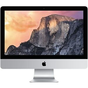 iMac (21.5-inch, Late 2015) 8 GB Ram 1TB HD, 2 TB Time Capsule
