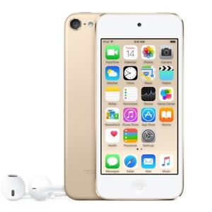 iPod touch 6th Gen 32GB gold with case