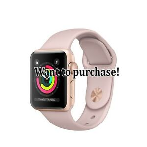 Looking for Apple Watch 3 - 38 mm
