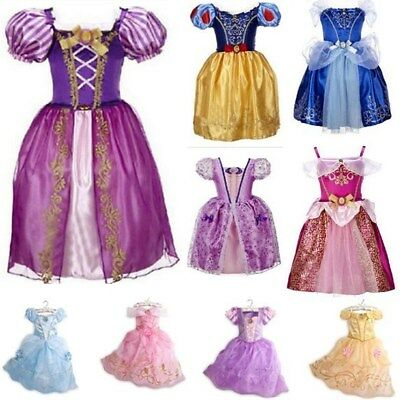 n Kostüm Märchen Dress Up Belle Cinderella Aurora-Rapunzel DE (Dress Up Prinzessin Belle)