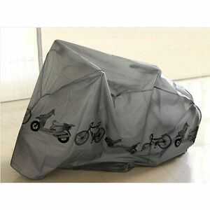 NEW-UNIVERSAL-WATERPROOF-CYCLE-BICYCLE-BIKE-COVER-FULLY-RAIN-RESISTANT-2-1m-x-1m