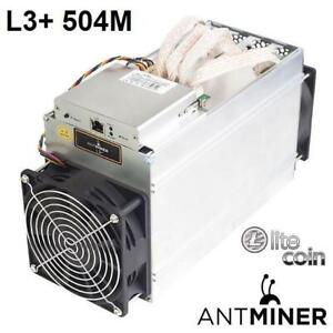 NEW ANTMINER 504M LITECOIN MINER L3+_504M 246085521 BITMAIN CRYPTO CURRENCY LTC