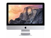 "21.5 "" iMac Late - i5 - 8GB RAM - 1TB HD Storage / With Magic Mouse and Keyboard!"