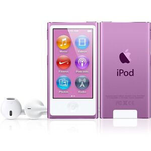 IPOD NANO 7TH GEN 16GB - MINT CONDITION - PURPLE