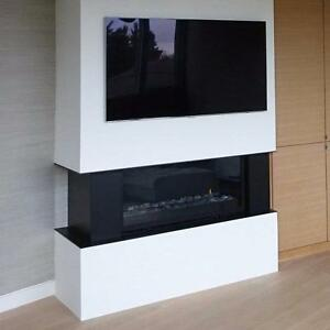 CONTEMPORARY DESIGN GAS FIREPLACE