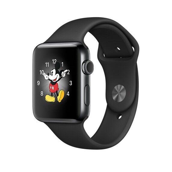 Series 2- Black 38mm Apple Watch