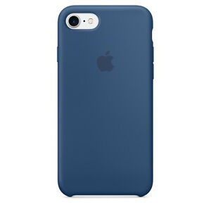 e61143c065 Apple Silicone Case for iPhone 7 - Ocean Blue for sale online | eBay