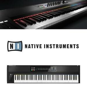 USED NATIVE INSTRUMENTS CONTROLLER S88 138786379 88 KEY CONTROLLER KEYBOARD MIDI PIANO